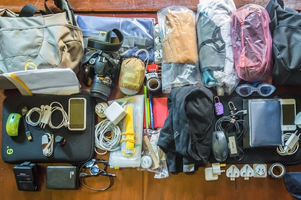 Digital Nomad Packing List