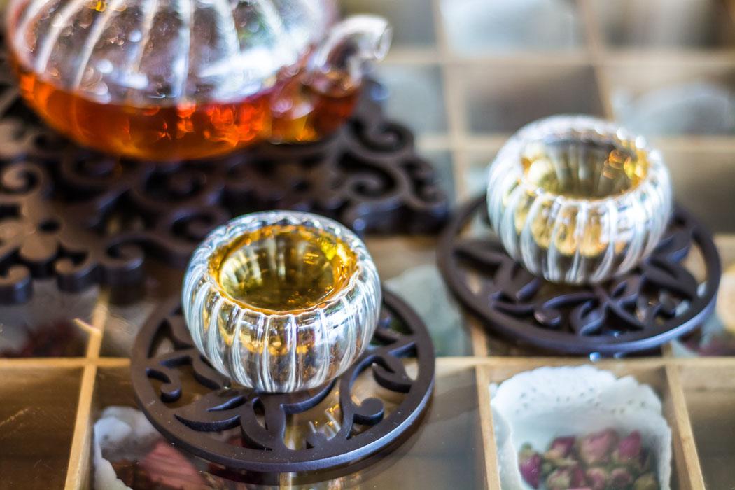Tea houses in Chiang Mai, Thailand.