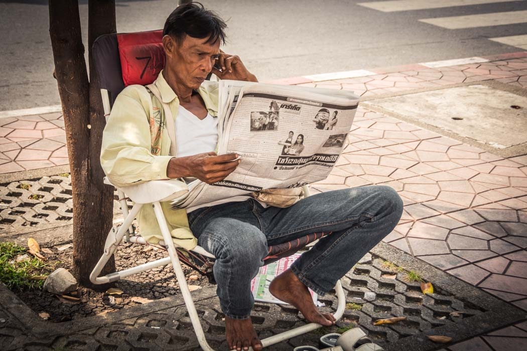 Photos of People Reading