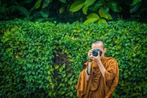 Mundane meditations of monks