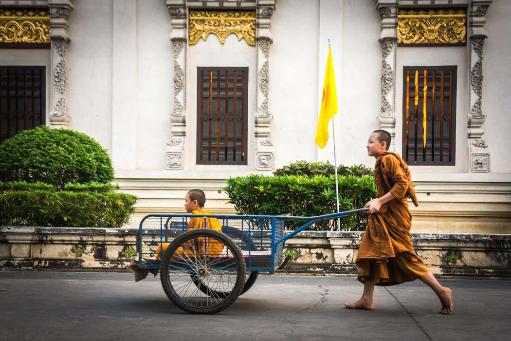 Mundane meditations, Thailand.