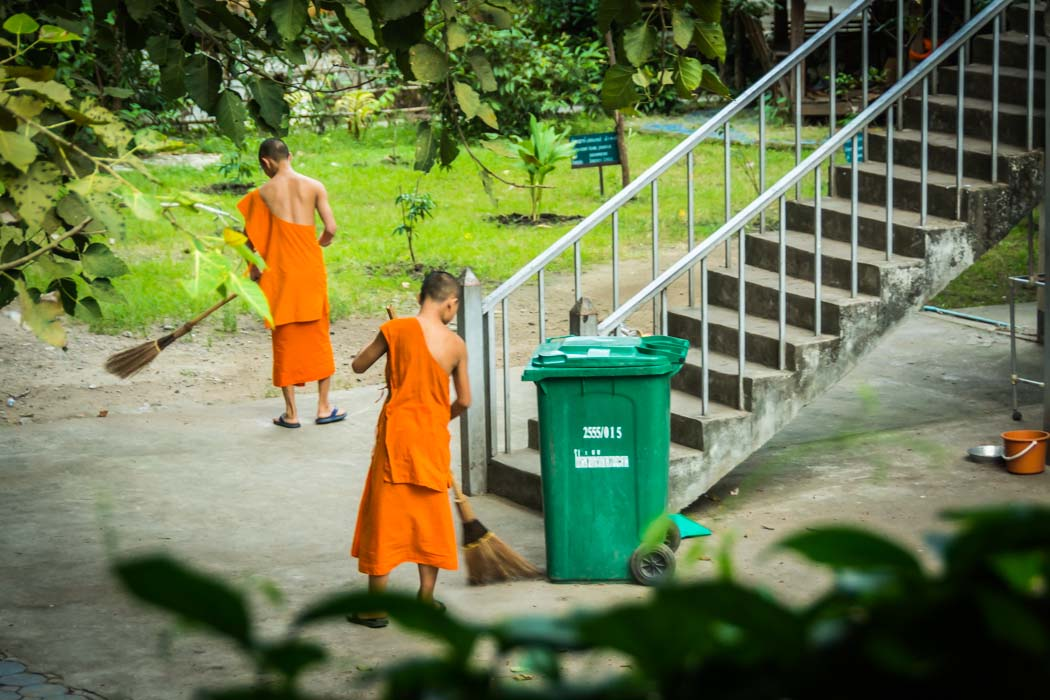 photos of monks