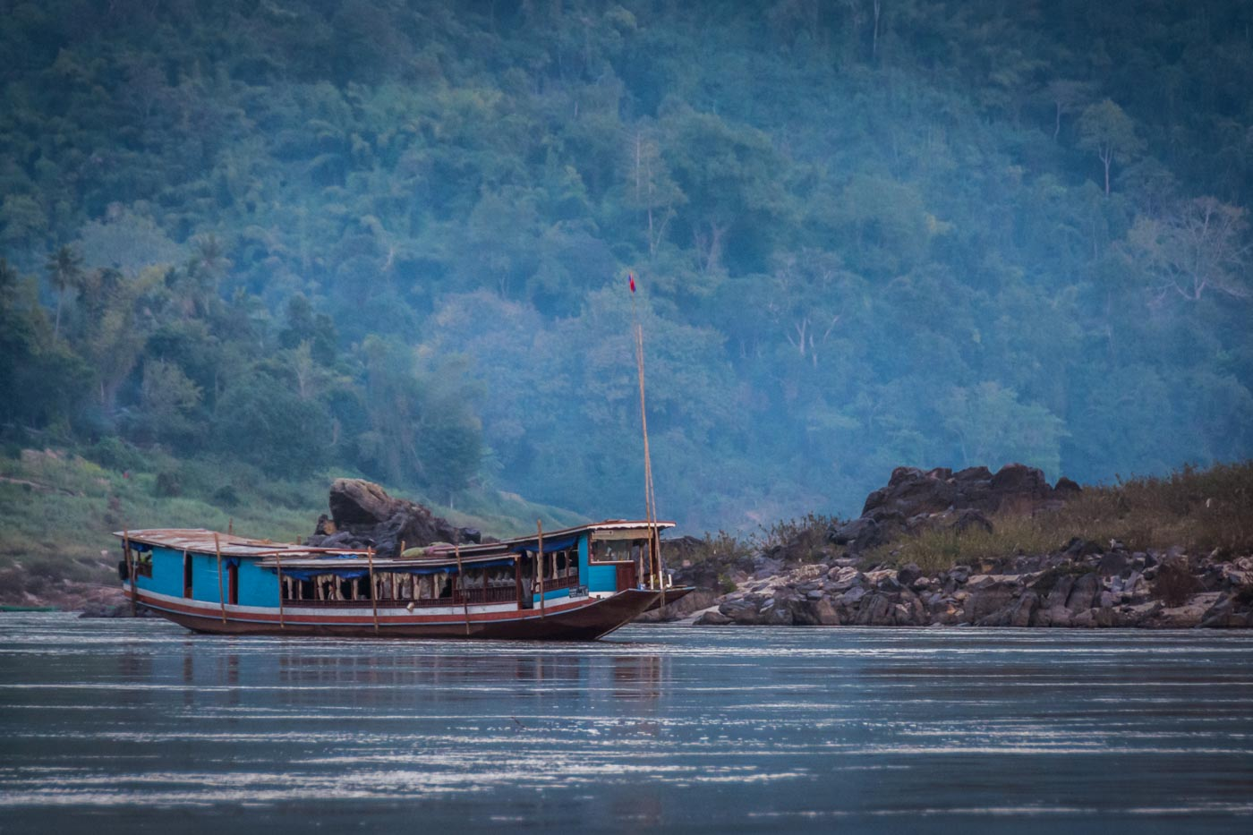 How We Survived a Slow Boat Trip to Laos