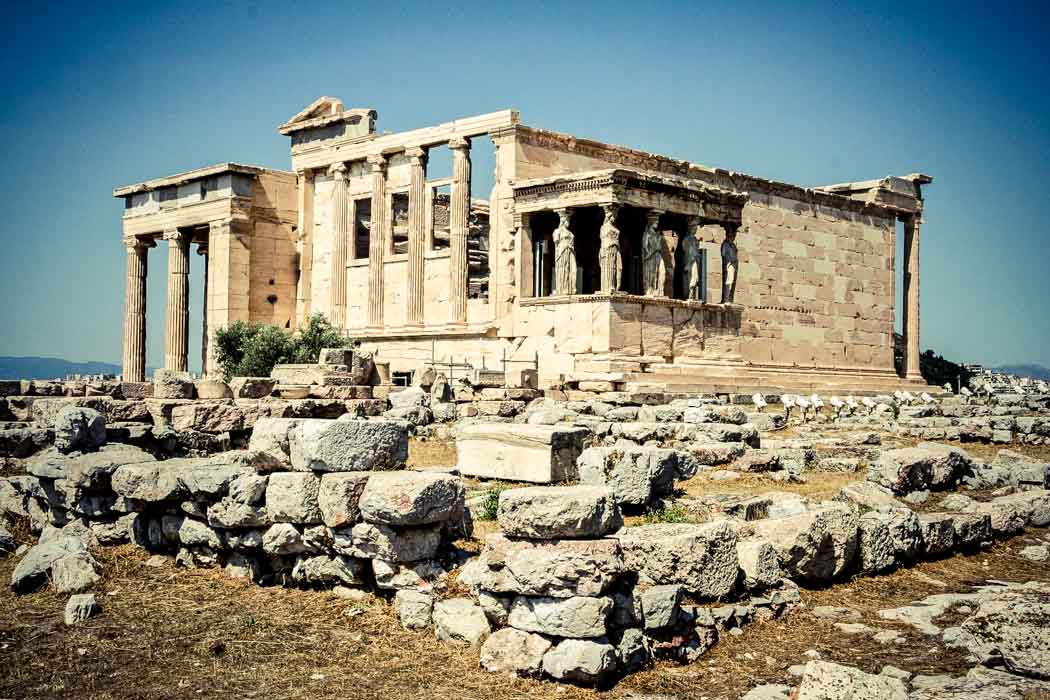 The Erechtheum in the Acropolis