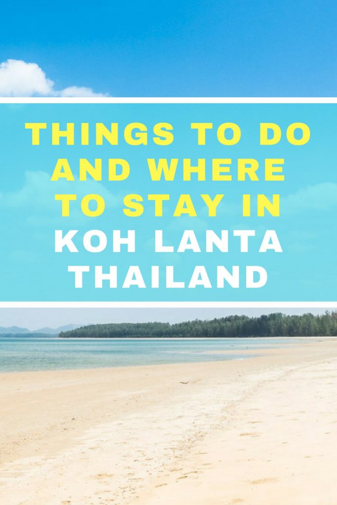 In this guide, you'll find a list of things to do in Koh Lanta, Thailand. We'll also tell you how much you can spend, and give you some suggestions on the best beaches, resorts and hotels of different budget. Basically all you need to know about where to stay in Koh Lanta and how to spend an amazing holiday in Thailand. #KohLanta #Thailand #KohLantaBeaches @NomadisBeautiful
