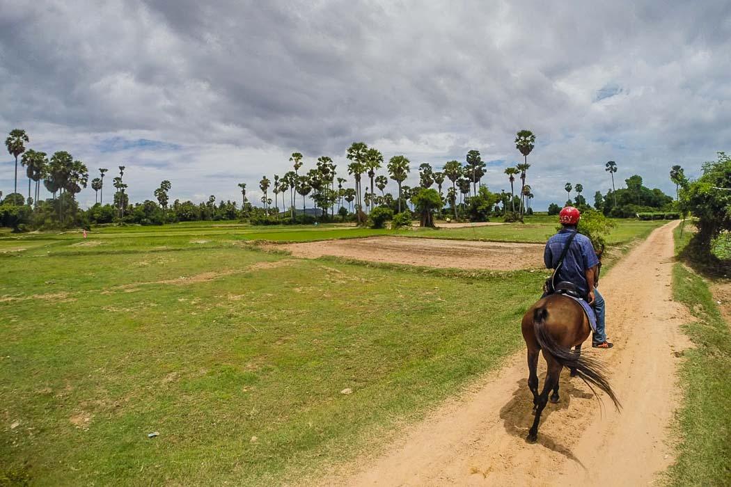 Horseriding in Cambodia