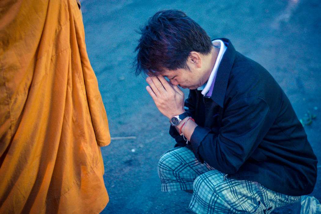 Pictures of People Praying