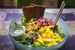 Ubud Organic Vegetarian Restaurants