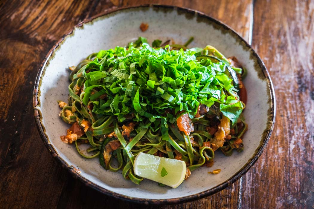 Ubud vegetarian organic restaurants.