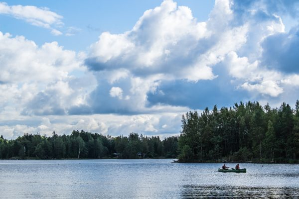 Outdoors in Hartola, Finland