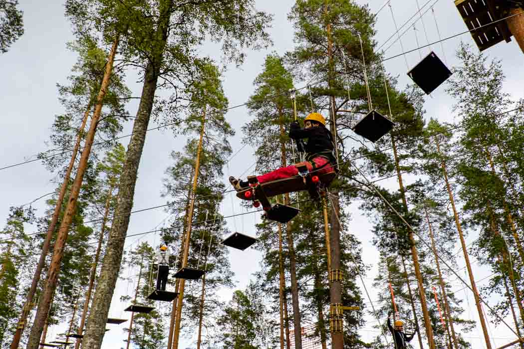 Eco-Adventures in Finland: Vierumäki Flowpark