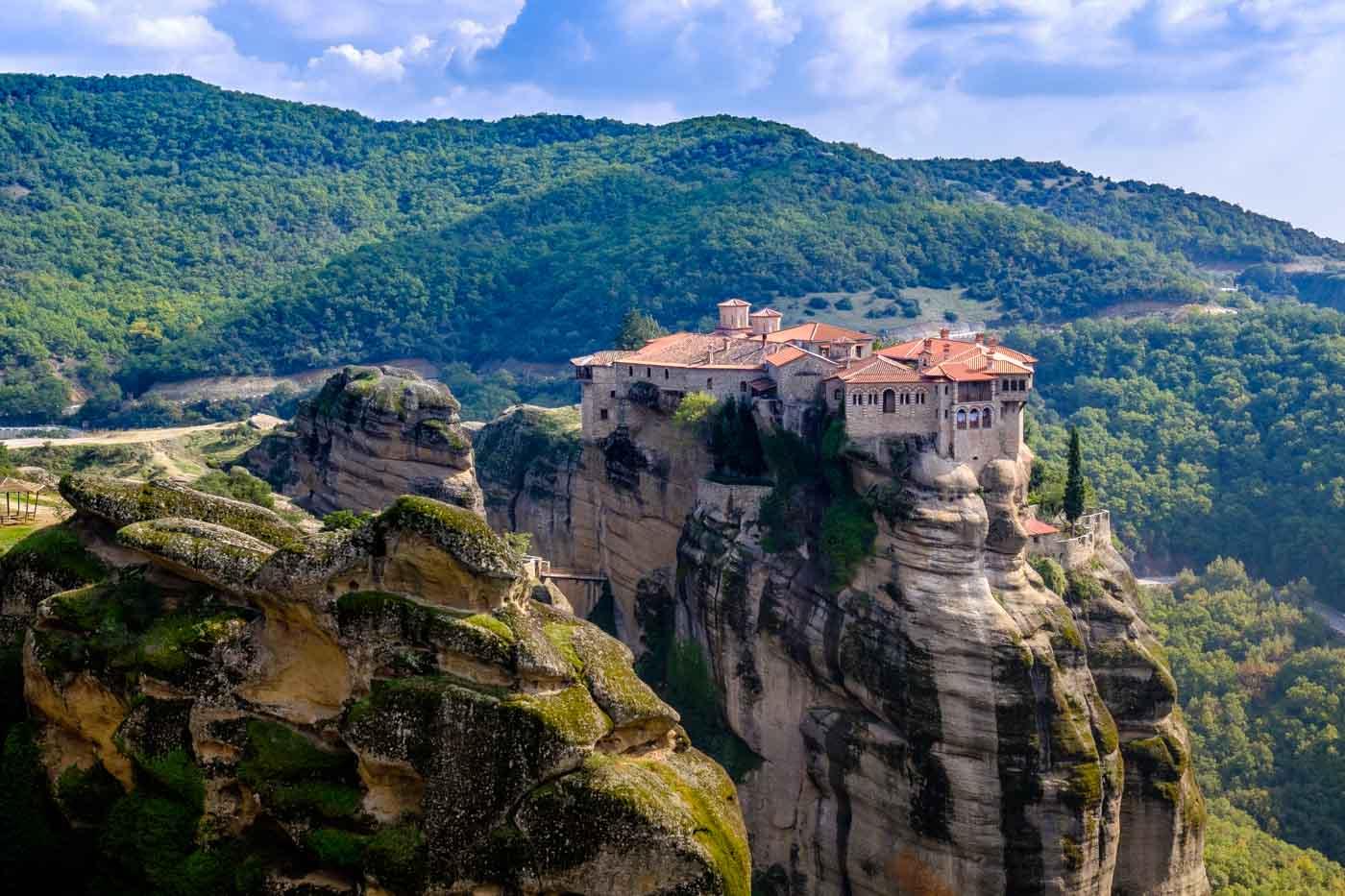 Varlaam Monastery, Meteora, Greece загрузить