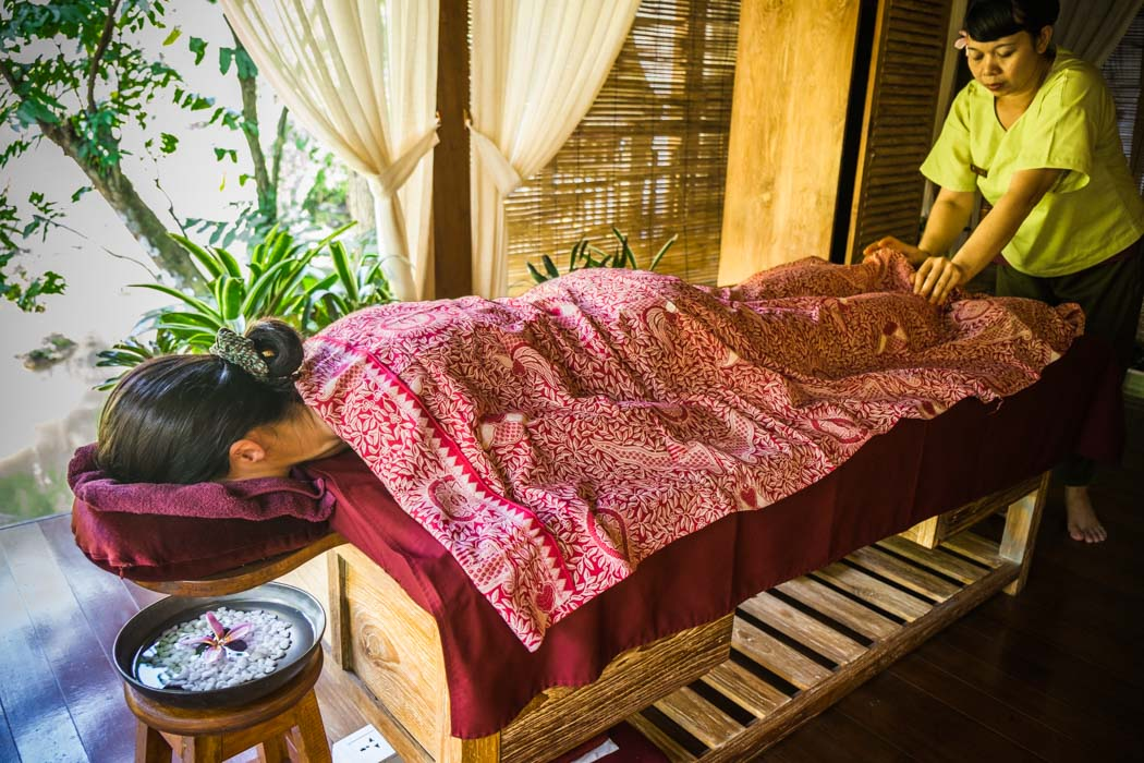 Balinese massage in Ubud