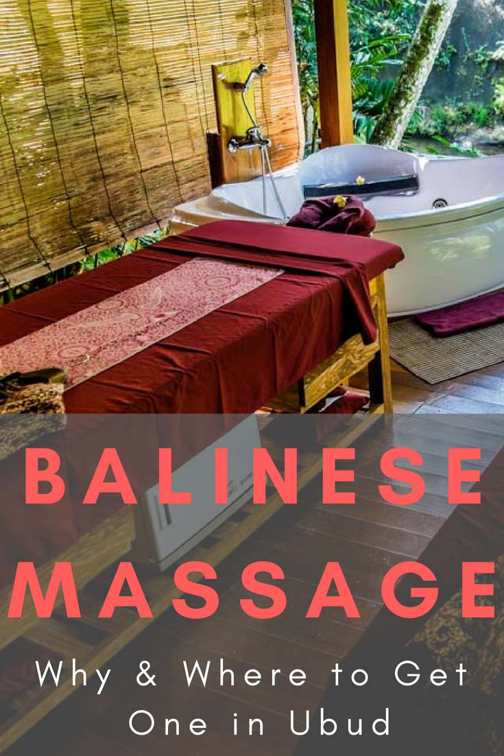 Check our ultimate guide to Balinese massage in Ubud. #BalineseMassage #Ubud