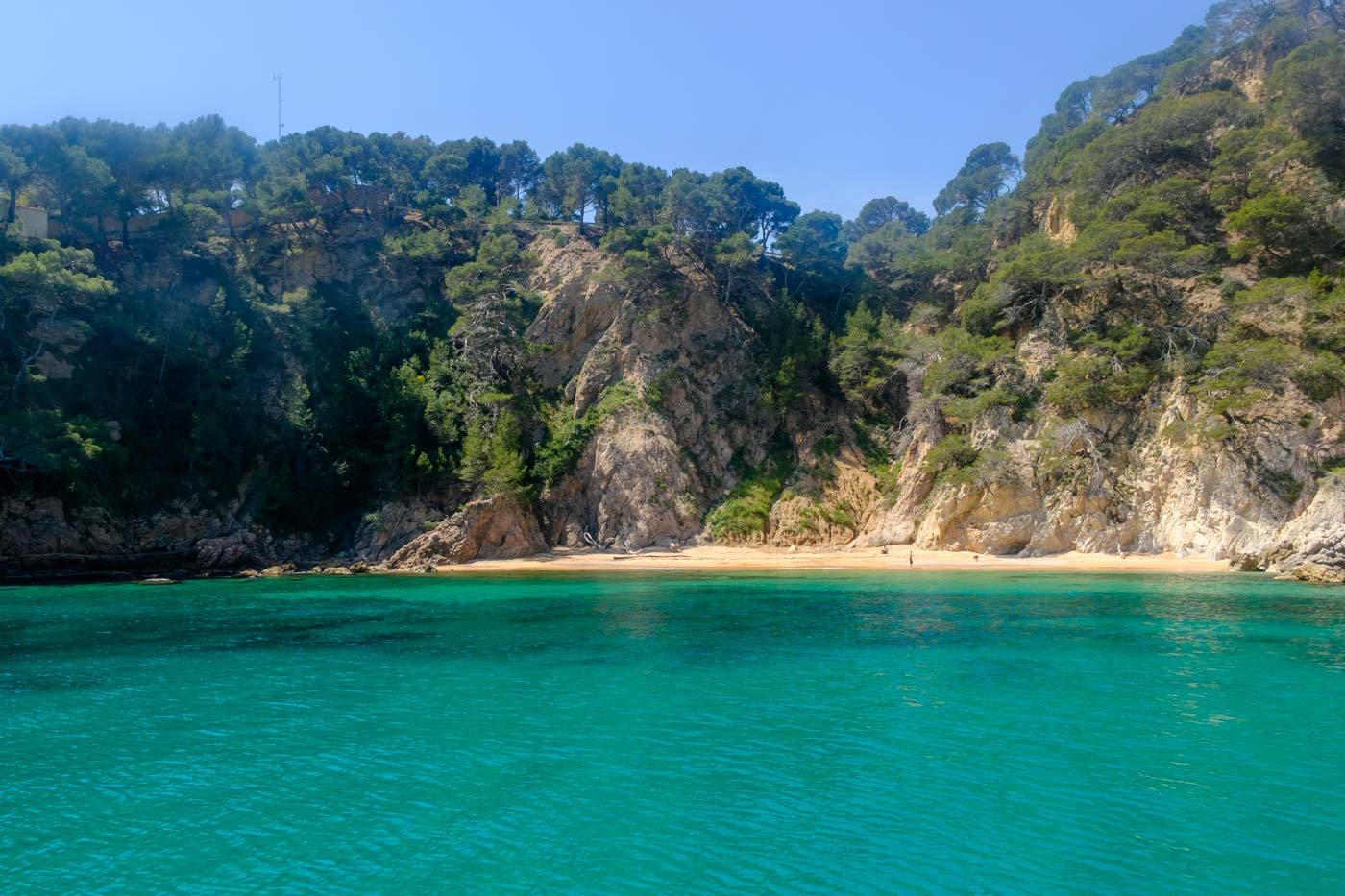 Escaping Crowds in Rugged Costa Brava, Spain