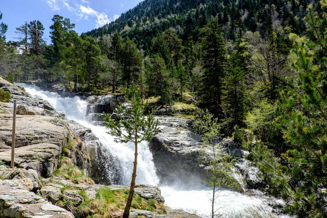 the Lleida Pyrenees in Spain