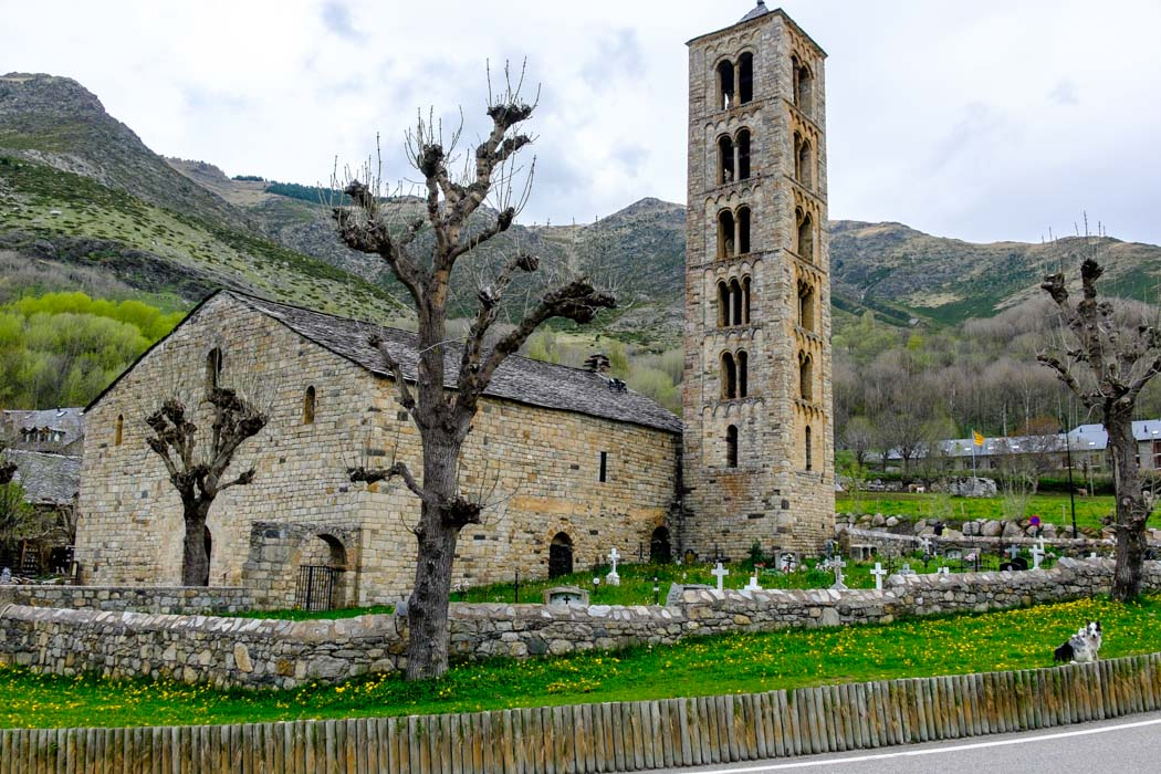 Lleida Pyrenees in Spain