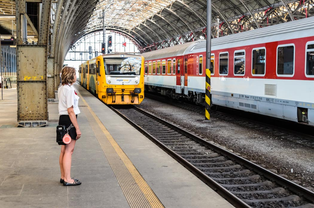 Train travel in Europe with Interrail