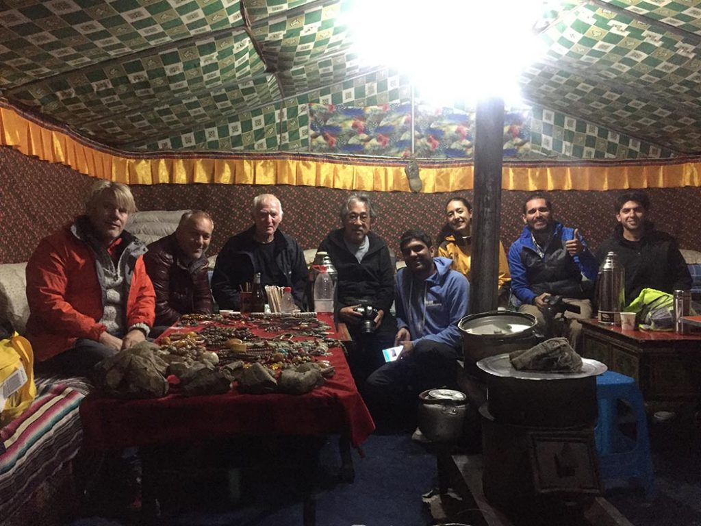 Spend the night inside the cozy home-run tents at Everest Base Camp.