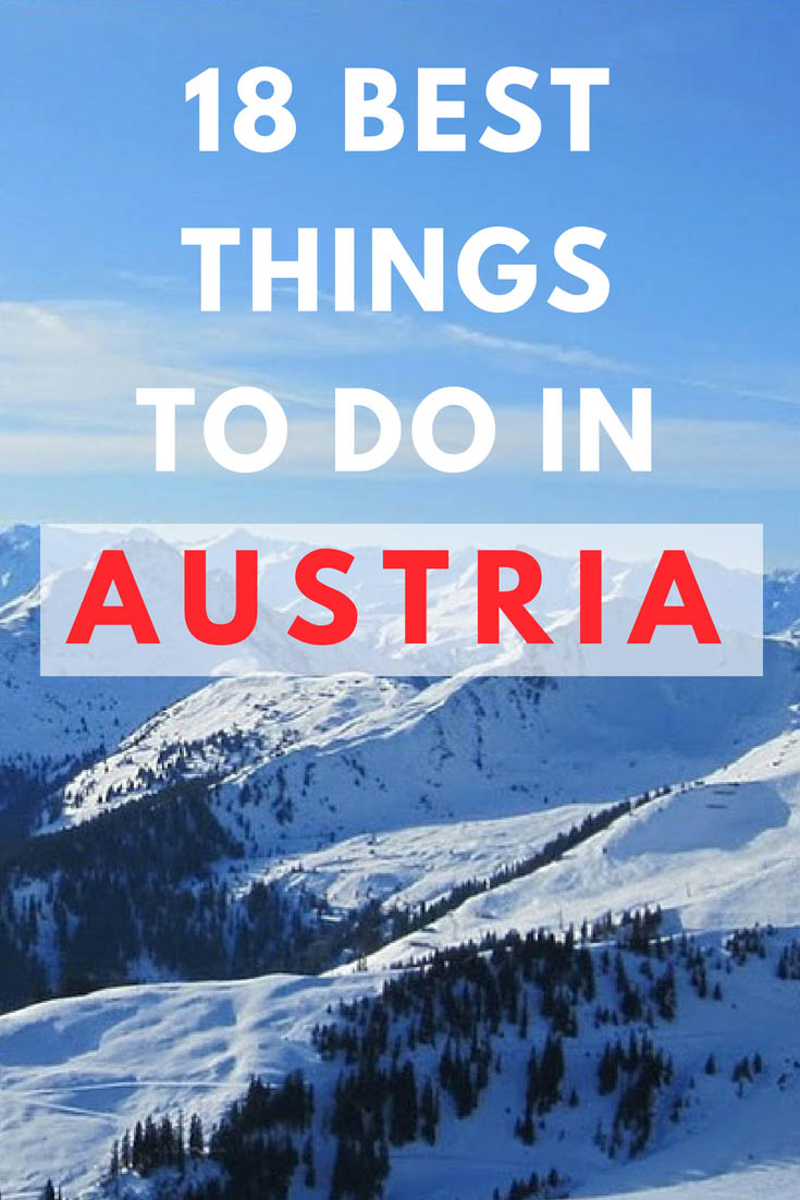 things to do in Austria