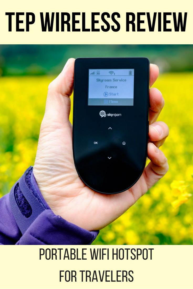 Portable WiFi Hotspot