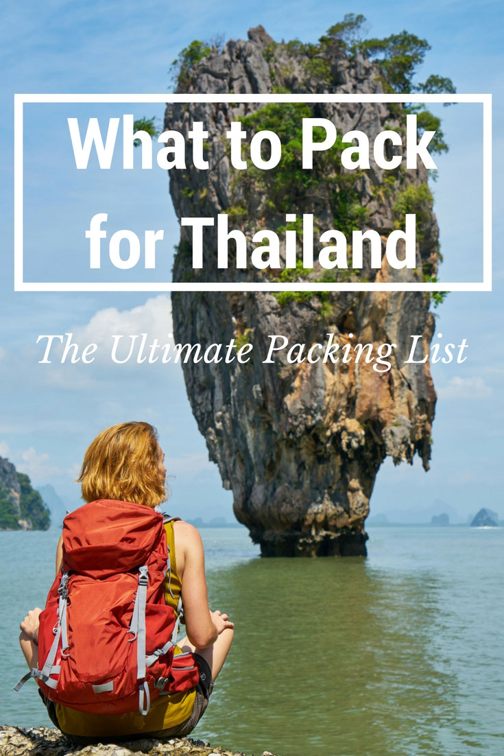 Planning your trip and thinking about what to pack for #Thailand? In this ultimate list you'll find all you need to know for a fantastic trip in the Land of the Smiles #whattopackforthailand #ThailandTravel