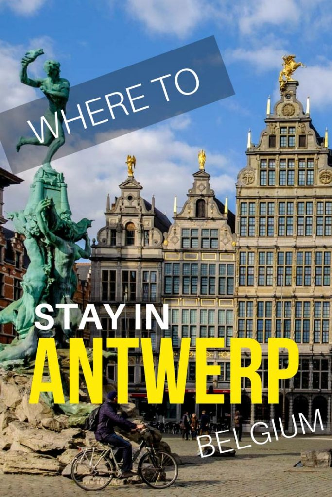 Where to stay in Antwerp, Belgium