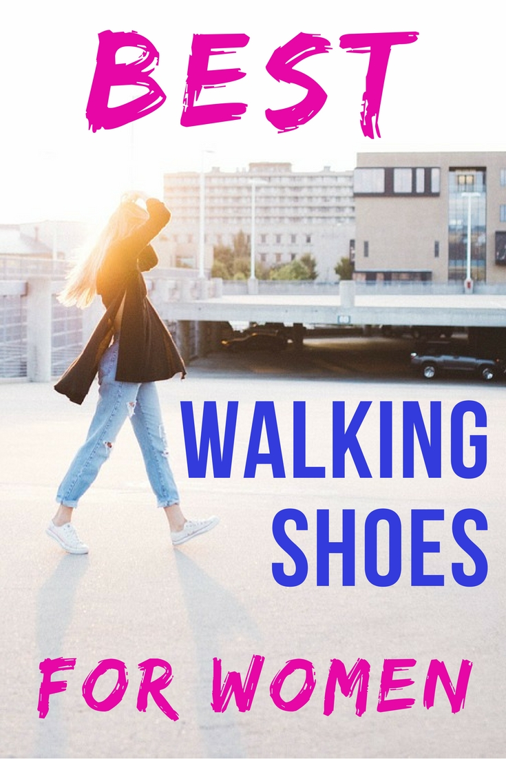 A guide that will help you to find the best walking shoes for women whether you plan to go walking on a countryside trail, pound city streets or stroll along the beach. #walking #travelshoes #walkingshoes