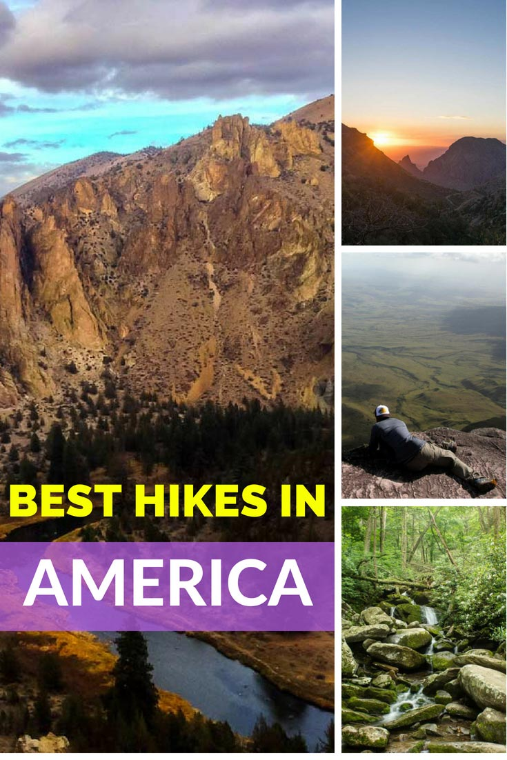 Best Hikes in America: An Amazing List of The Trails in North, Central and South America. #hiking #America #outdoors