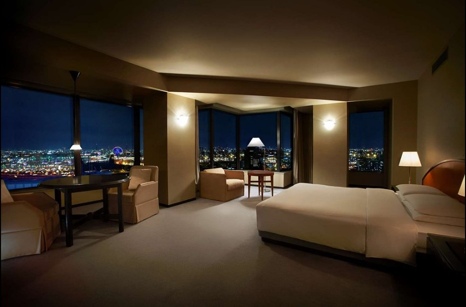 where to stay Osaka