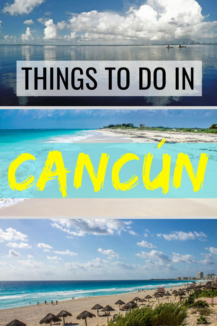 Check out our ultimate guide on the things to do in Cancún. #Cancun #Mexico #Mexicotips