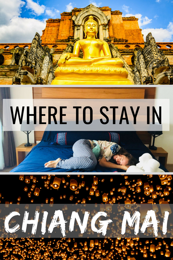 Check out our ultimate guide to where to stay in Chiang Mai and pick the best hotel and neighborhood! #ChiangMai #Thailand