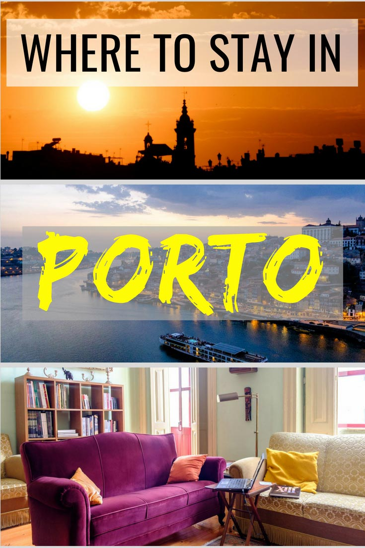 Check out our ultimate guide to where to stay in Porto and pick the best hotel and neighborhood! #Porto #Portugal #besthotels
