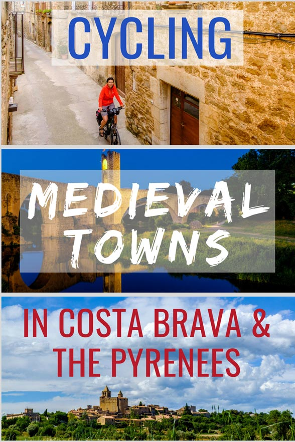 Check out our ultimate guide to cycling medieval towns in Costa Brava and The Pyrenees . #InCostaBrava #Cycling