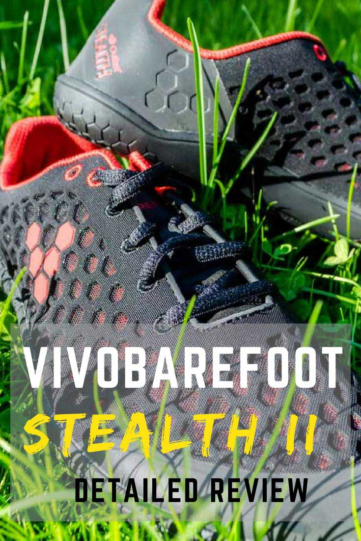 Check out our detailed review of Vivobarefoot Stealth II #VivoBarefoot #barefoot #review #runningshoes