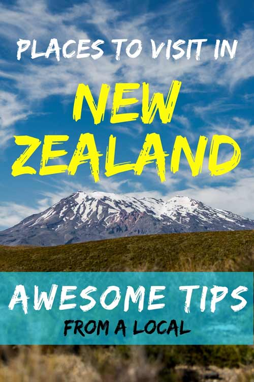 Check out our ultimate guide to the places to visit in New Zealand. #NewZealand #LocalTips