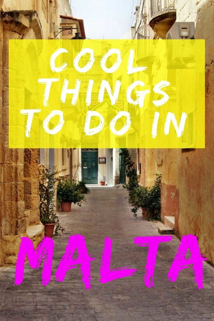Check out our ultimate guide to the cool things to do in Malta. #Malta #Travel #TravelGuide
