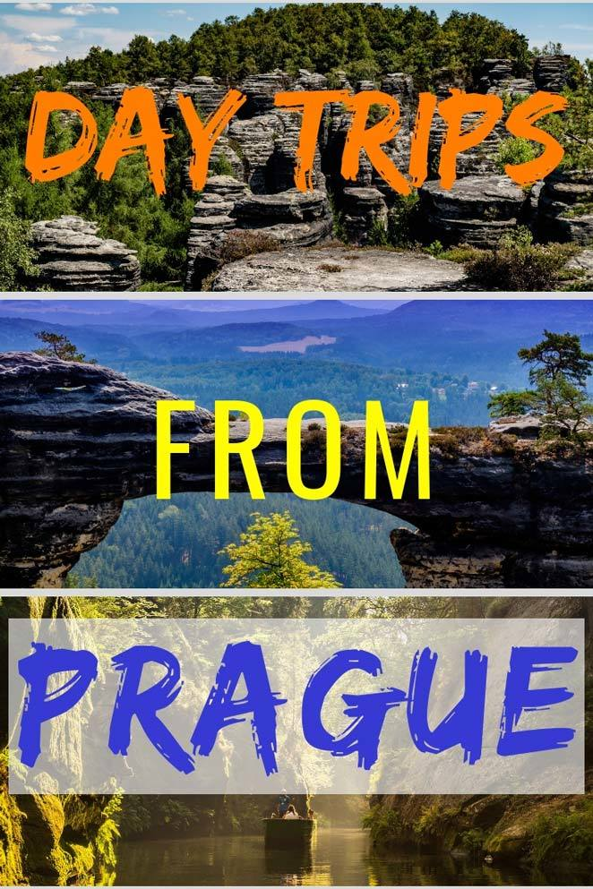 Check out some awesome outdoor day trips from Prague. #Prague #Travel #BohemianSwitzerland #Czech