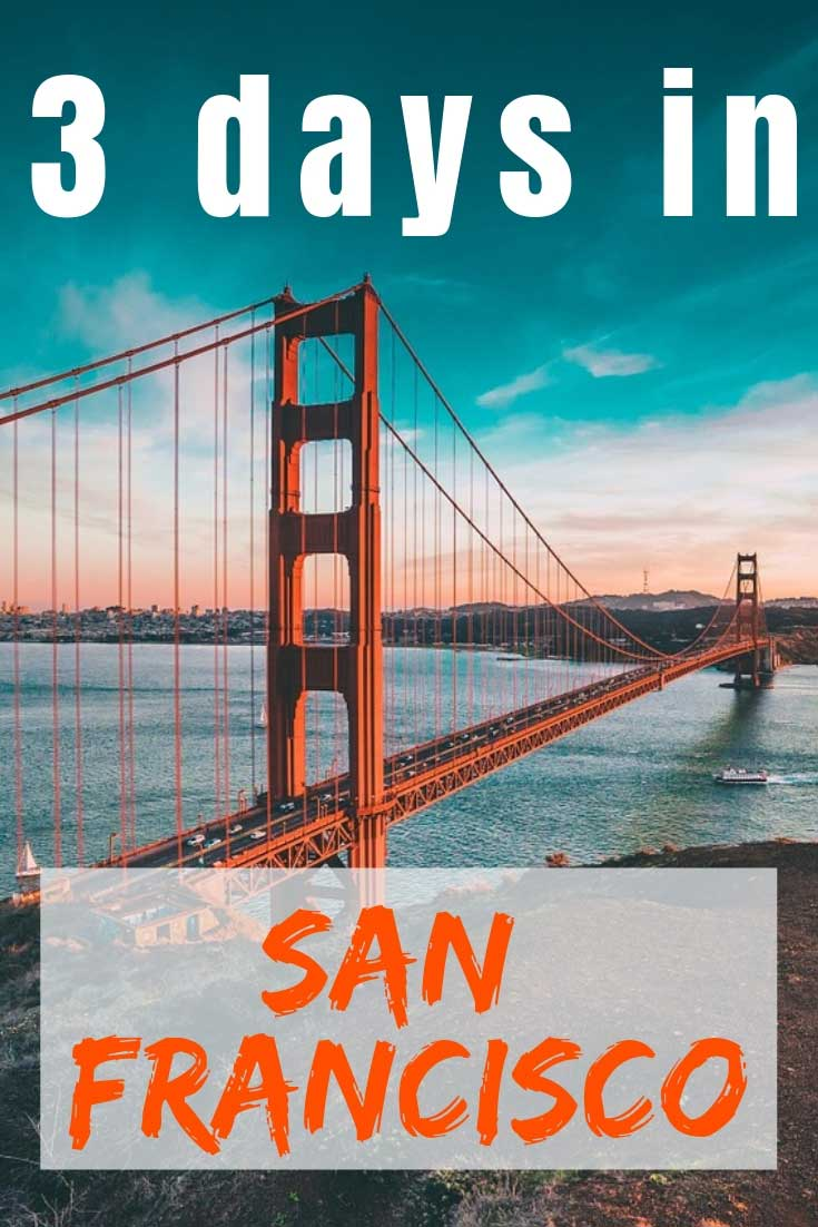 Check out some awesome tips on what to do and see in 3 days in San Francisco #SanFrancisco #USA #travel