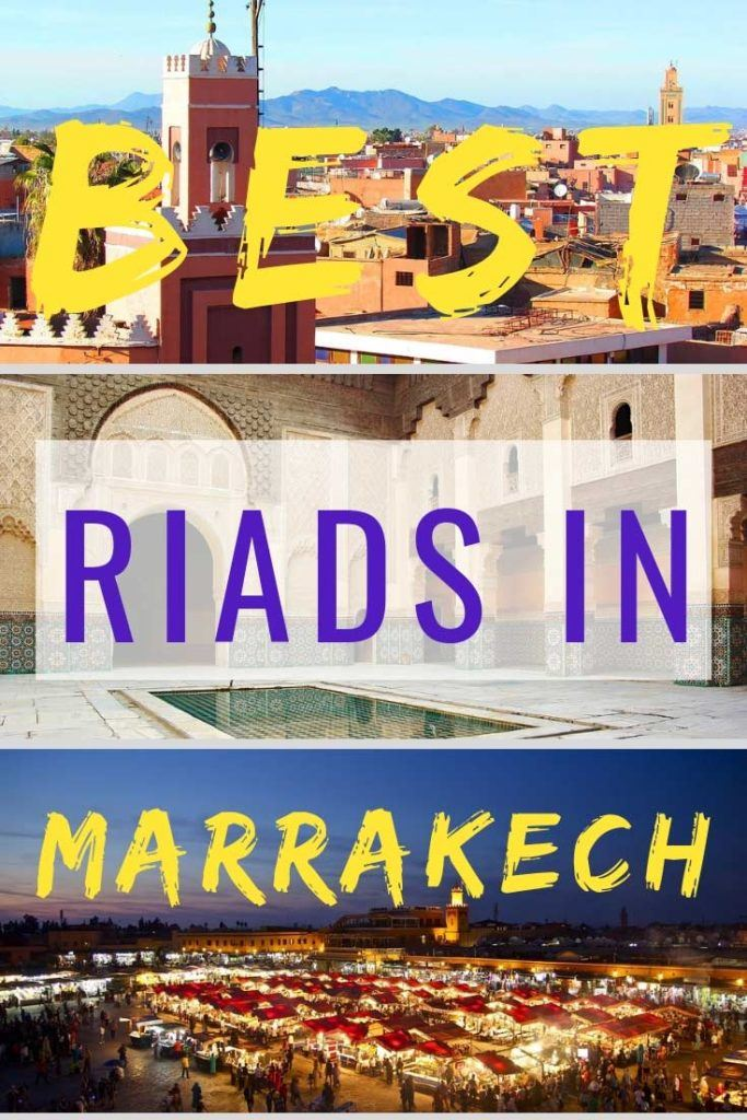 Check out our tips on the best riads in Marrakech. #Marrakech #bestriads #Morocco