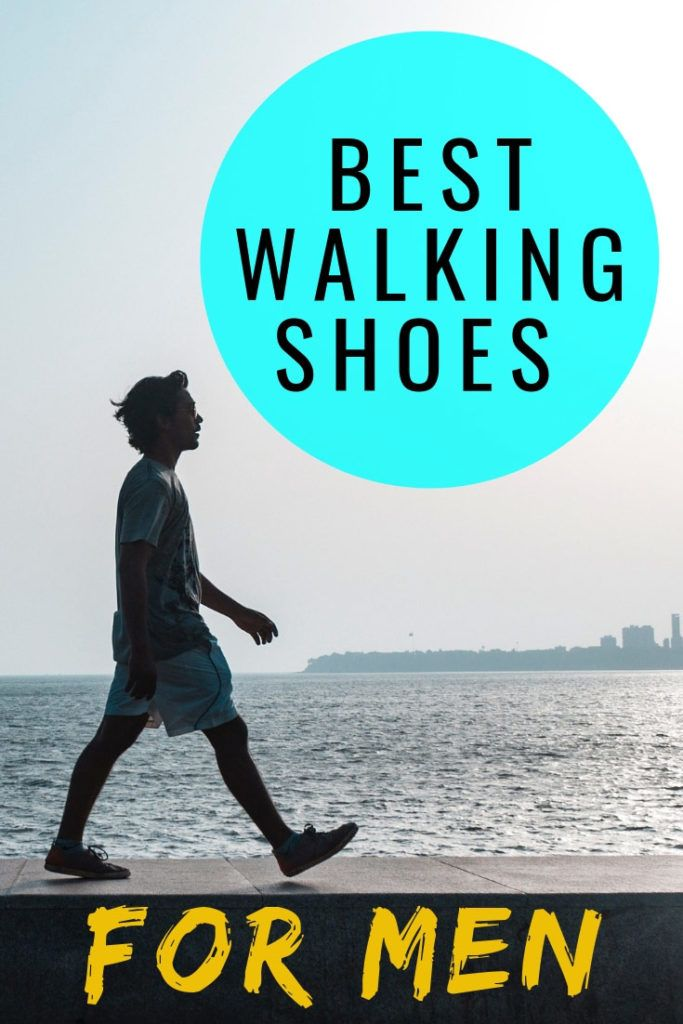 Check out our ultimate guide to the best walking shoes for men. #travelgear #travel #shoes