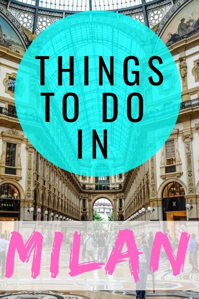 Check out our ultimate guide to the things to do in Milan. #Milan #TravelGuide
