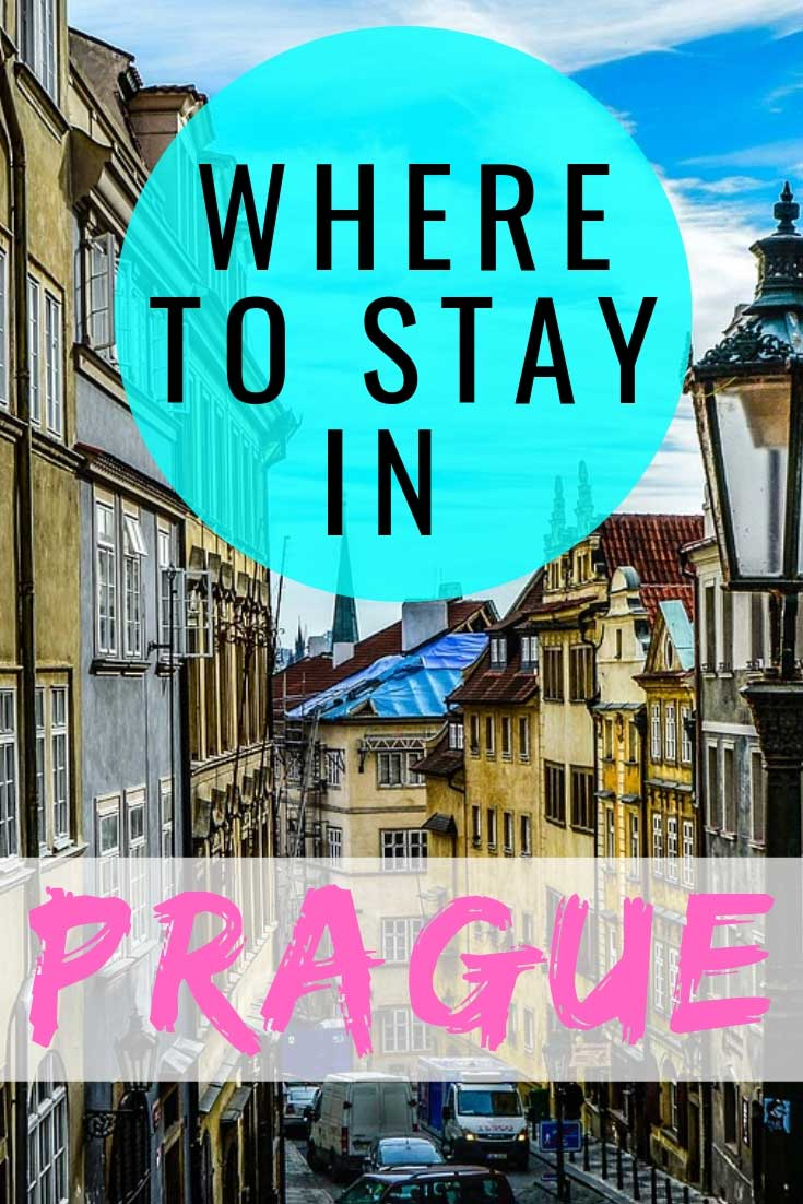 The ultimate guide to where to stay in Prague with the best neighborhoods and hotels. #Prague #Czech #besthotels #visitczech