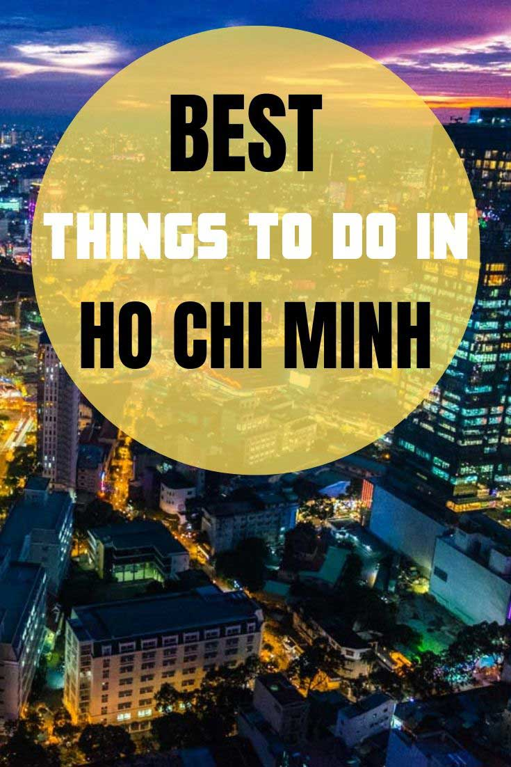 Thing to do in Ho Chi Minh City: tips on popular and lesser-known places #HoChiMinh #Vietnam #Saigon #travel #VietnamGuide