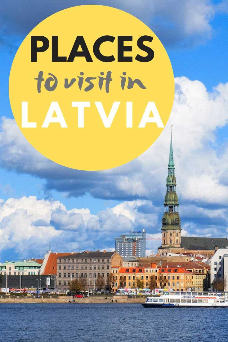 Get inspired by local tips on places to visit in Latvia! #latvia travel #travelblog #visitlatvia