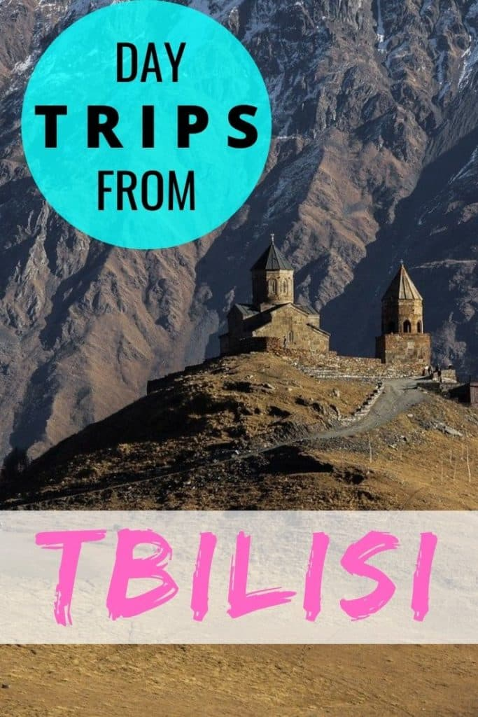 A list of day trips from Tbilisi.