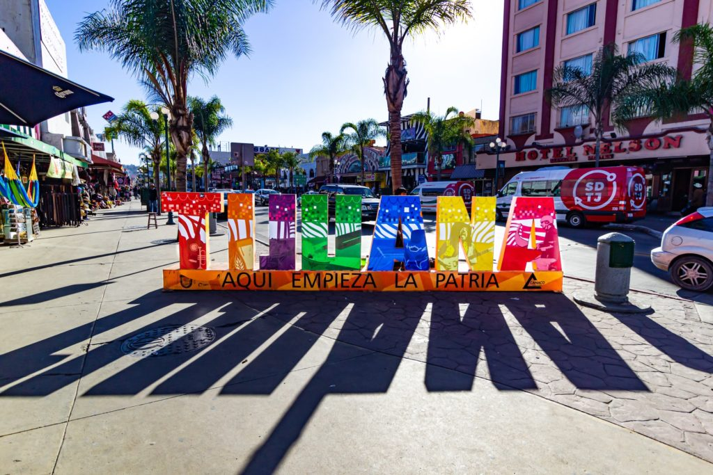 traveling in Tijuana